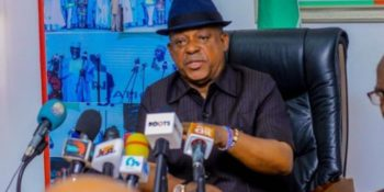 PDP National Chairman Uche Secondus: tackles Supreme Court Justices over Imo verdict