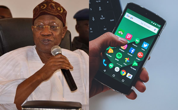 Minister of Information and Culture, Lai Mohammed to regulate social media