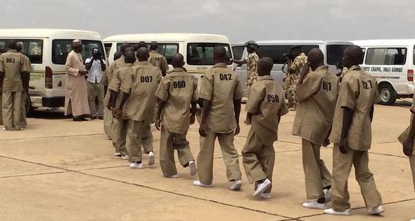Repentant boko haram members rahabilitation
