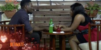 Bolanle was able to put together a surprise dinner date for her partner, Arnold