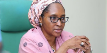 The Minister of Finance, Budget and National Planning, Zainab Ahmed