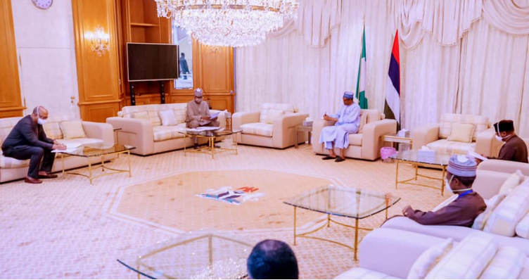President Muhammadu Buhari, on Sunday, May 17th, 2020, received a briefing from the Presidential Task Force on COVID-19