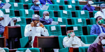Members of the House of Representatives during plenary