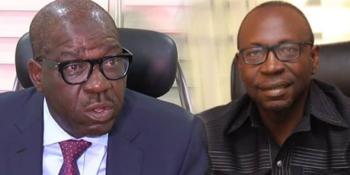 Governor Godwin Obaseki vs Pastor Osagie Ize-Iyamu
