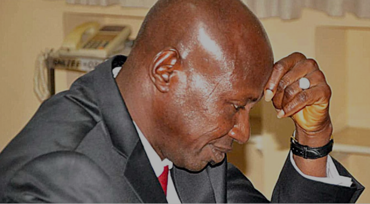 The suspended acting chairman of the EFCC, Ibrahim Magu
