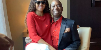 Regina Daniels and her husband, Ned Nwoko