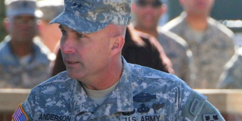 Commander of the US Special Operations Command, Africa, Maj. Gen. Davin Anderson