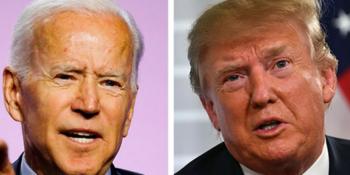 Joe Biden vs President Donald Trump