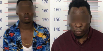 Two suspected Nigerian internet fraudsters in Cambodia