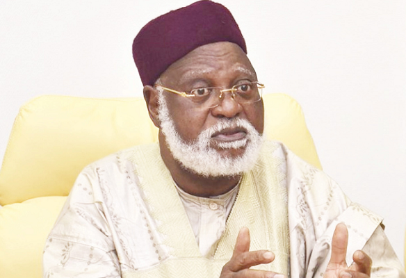 Former head of state, retired General Abdulsalami Abubakar