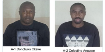 Bengaluru police have arrested two Nigerian nationals and recovered as many as 3,300 Ecstasy pills and 600 gm of MDMA (Methylenedioxy-Methamphetamine) powder valued at Rs 1 crore (N51,748,548.04).