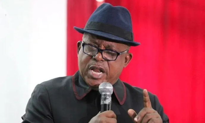 National Chairman of Peoples Democratic Party (PDP), Uche Secondus