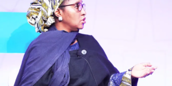 Minister of Finance, Budget and National Planning, Mrs. Zainab Ahmed