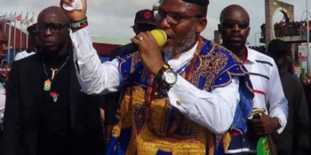 Leader of the Indigenous People Of Biafra, Nnamdi Kanu