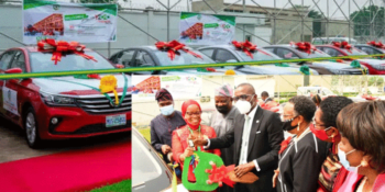 The Lagos State Governor, Mr. Babajide Olusola Sanwo-Olu, yesterday presented cars gift to 12 teachers in the public sector for their 'outstanding' contributions to learning in the state.