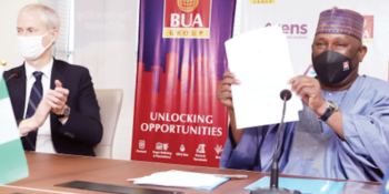 BUA Group and Axens, a France-based petroleum technology company