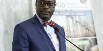 President of the African Development Bank (AfDB), Dr. Akinwunmi Adesina