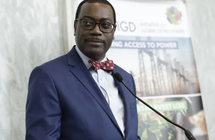 President of the African Development Bank (AfDB), Dr. Akinwunmi Adesina
