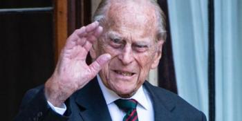 Duke of Edinburgh and husband of Queen Elizabeth II, Prince Philip
