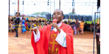 Spiritual Director of the Adoration Ministry, and a Catholic Priest in Enugu State, Rev. Father Ejike Mbaka