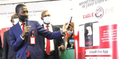 Economic and Financial Crimes Commission (EFCC), has launched an online App, Eagle Eye