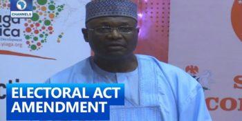 Electoral Act Amendment Bill
