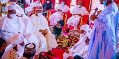 Top Leaders Storm Bichi for Yusuf Buhari and Zahra Bayero's Wedding
